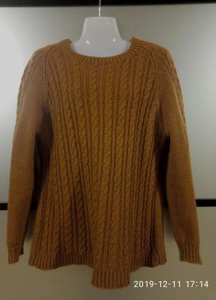 Вязанный свитер нand made,s/m/l