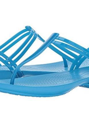 """crocs"" isabella t-strap босоножки w8 , 38й размер."