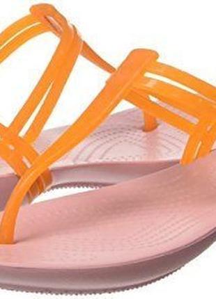 "Босоножки ""crocs"" isabella t-strap w7 , 37й размер."