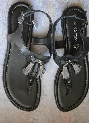 Marco tozzi  сандалии, кожа,39-40й размер.