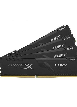 DDR4 4x16GB/3200 Kingston HyperX Fury Black (HX432C16FB3K4/64)