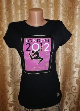 🔥🔥🔥стильная черная спортивная женская футболка adidas london 2...
