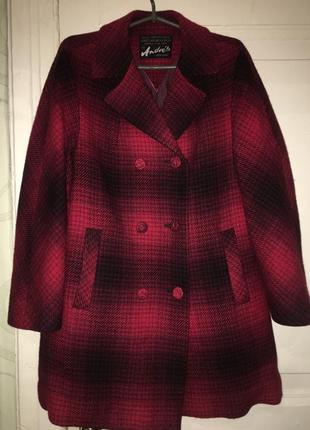 Пальто германия классика красное