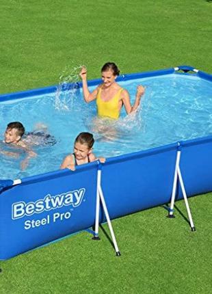 Каркасный прямоугольный бассейн BestWay ORIGINAL 56405 Размер ...