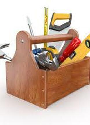 Мелкий ремонт по дому. Ремонт мебели, дверей,окон. Замена замков.