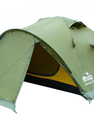 Палатка двухместная Tramp Mountain 2 TRT-022-green 300х220х120 см