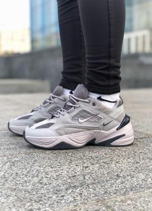 Nike m2k tekno gray! шикарные женские кроссовки 😍 (весна/ лето...