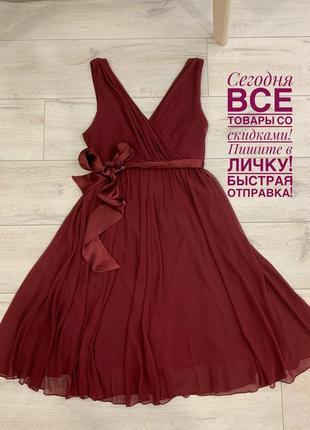 Нереальное шифоновое платье к новому году