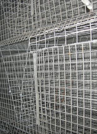 Клетка для нутрий на 4-6 голов, высокое качество сетки