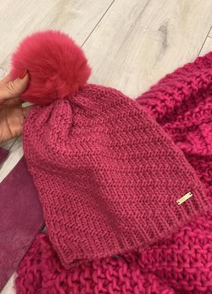 Шапка, шарф и перчатки в подарок