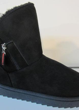Женские зимние угги ботинки