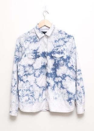 Джинсовая рубашка, блуза