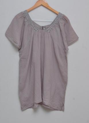 Легкая блузка из натуральной ткани