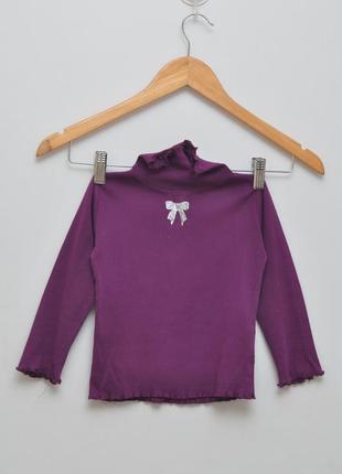 Шикарный  фиолетовый гольфик со стразами. 100% хлопок