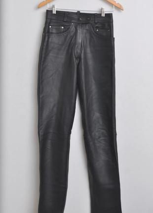 Кожаные штаны унисекс. мото штаны. немецкий бренд. 100% натура...