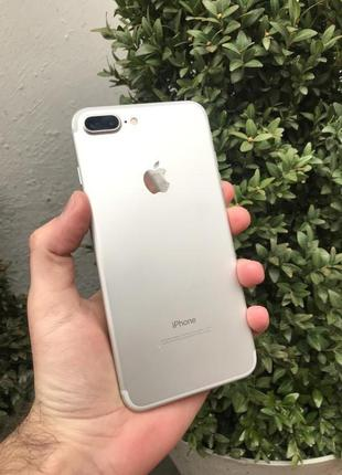 Вживаний iPhone 7+ 128 GB Silver Ідеал!