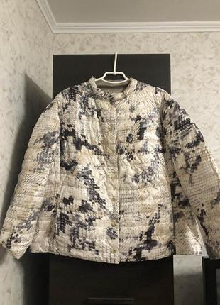 Двухсторонняя куртка холлофайбер elena miro!