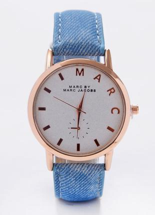 Часы Marc синий ремешок 079-1