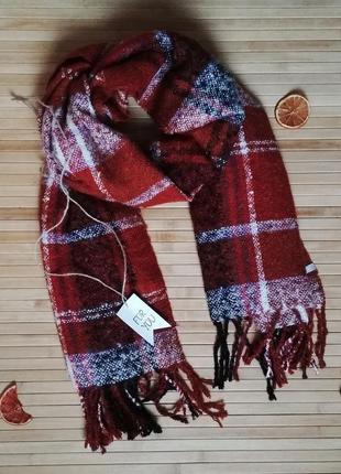 Большой фирменный шарф бренд cecil