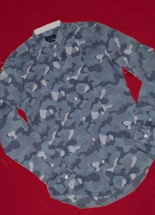Рубашка zara man, slim fit, 175/92a,  p.s, 38.