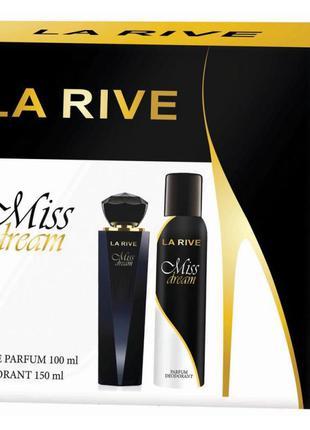 Женский подарочный набор парфюмированная вода и дезодорант mis...