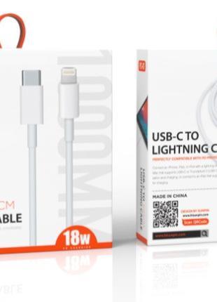 USB кабель / Дата кабель Sunpin PC-01 Type C to Lighting 20W W...