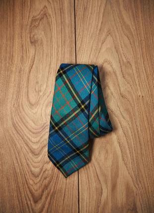 Шерстяной шотландский галстук