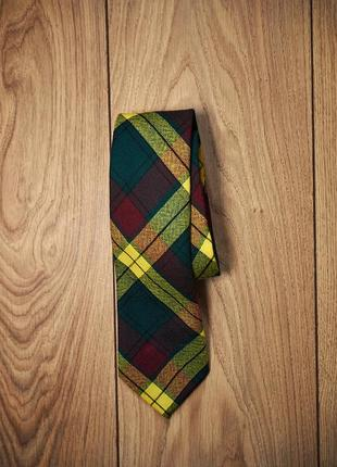 Шерстяной шотландский галстук от macmillan old