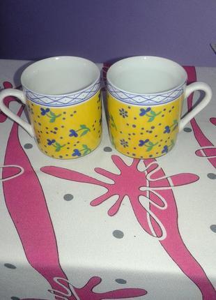 Весёлый набор  для двоих(кофейные чашки)