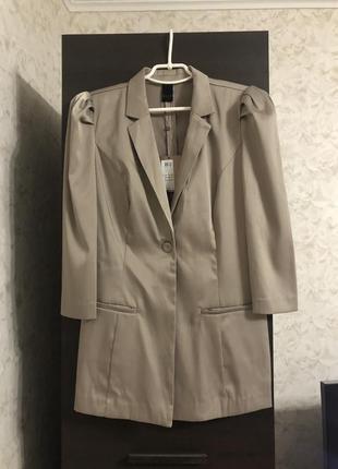Удлиненный пиджак vila, новый!