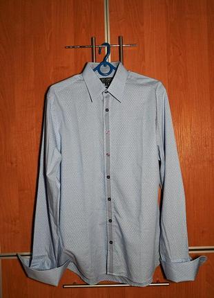 Стильная винтажная мужская рубашка от jeff banks