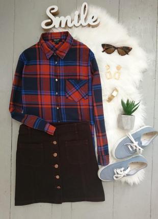 Стильная джинсовая мини юбка №9max