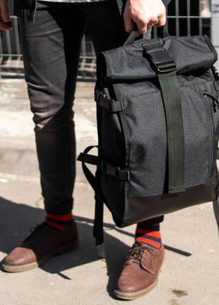 Роллтоп рюкзак мужской городской