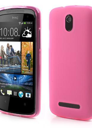 Чехол силиконовый на HTC Desire 500 506e