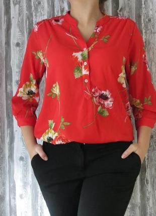 Блуза с длинным рукавом большой размер 16 размер большой выбор...