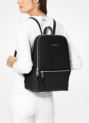 Шикарный кожаный рюкзак michael kors оригинал