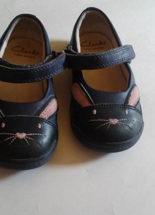 Туфли детские сlarks first shoes