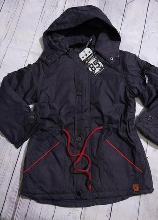 Демисезонные куртки для мальчиков на рост 98-110. венгрия