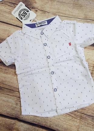 Рубашки 6-12мес венгрия buddy boy