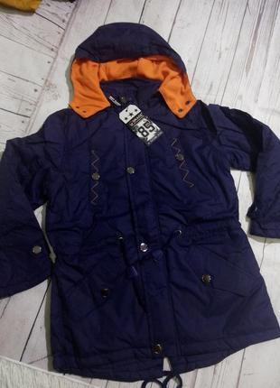 Демисезонные куртки 128-134венгрия grace.