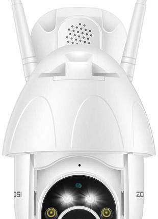 ZOSI 1080p PTZ Dome Security Camera Outdoor ZOSI ZND350W2/32/6...