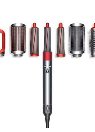 Фен-стайлер Dyson Airwrap Styler Complete Nickel/Red