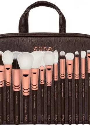 Набор кистей для макияжа Zoeva Zoe Bag Rose Golden Vol. 1