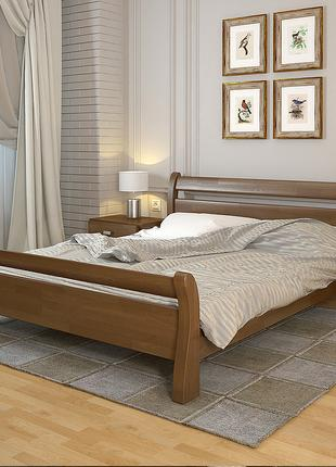 "Ліжко нове, соснове, фабричне, ""Соната"" колір Горіх, 160/200"