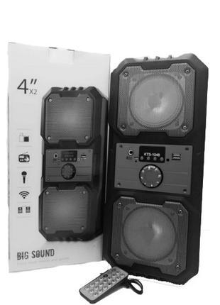 ✅ Портативная мобильная Bluetooth колонка Kts 1048   блютуз FM...