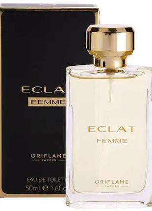 Женская туалетная вода Eclat femme Орифлейм
