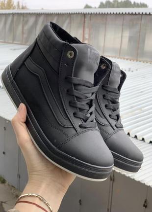 Подростковые ботинки {натуральная кожа}