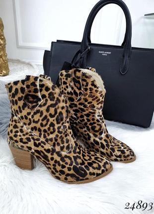 Сапоги леопард