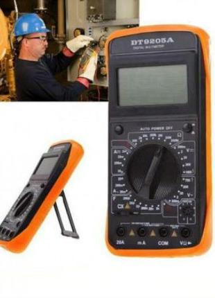 ✅ Мультиметр DT-9205A цифровой, многофункциональный, портативн...