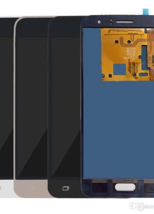 Дисплей Samsung J120 Galaxy J1 (2016) с тачскрином (Black) TFT...
